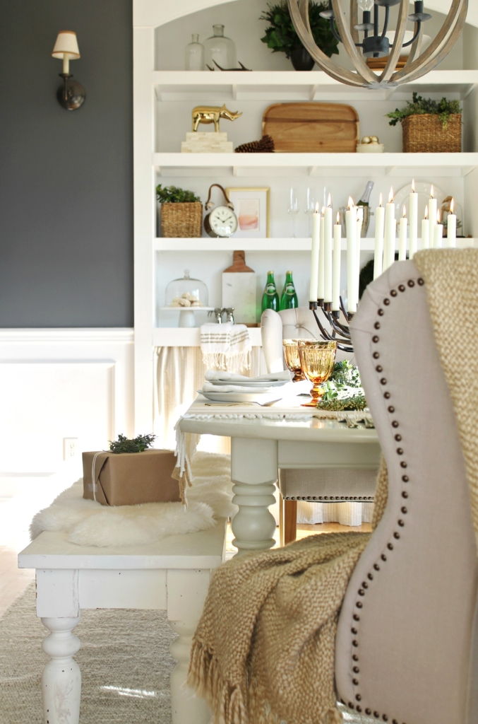 City Farmhouse Holiday Dining Room With Birch Lane 2