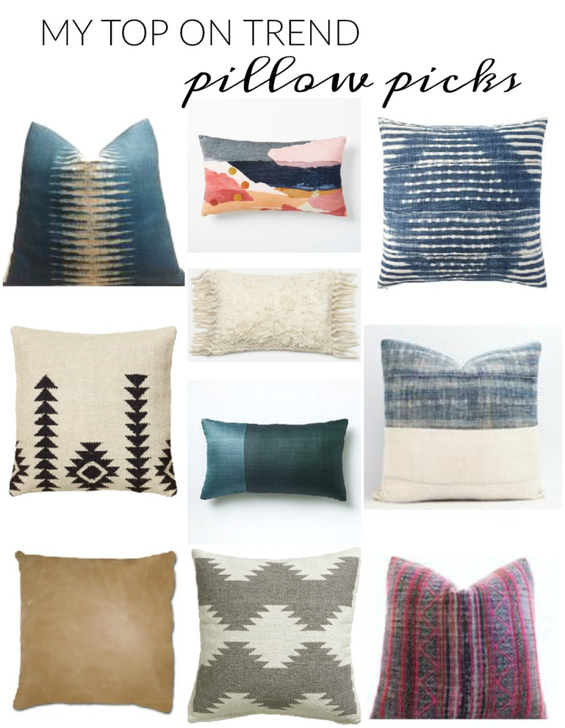 My Top on Trend Pillow Picks-City Farmhouse