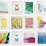25 Bright + Cheerful Prints Inspired By Spring