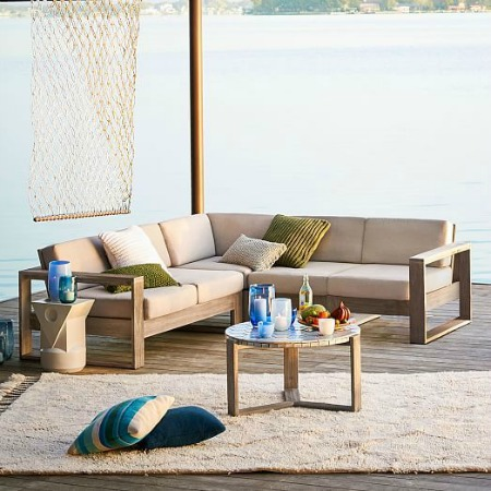 Stylish Outdoor Sectionals + 16 Affordable Options