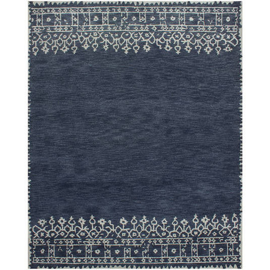 Favorite indigo area rugs - How to make a wool accent rug work for your space ...