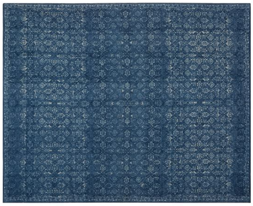 Indigo Wool Area Rug Area Rug Designs