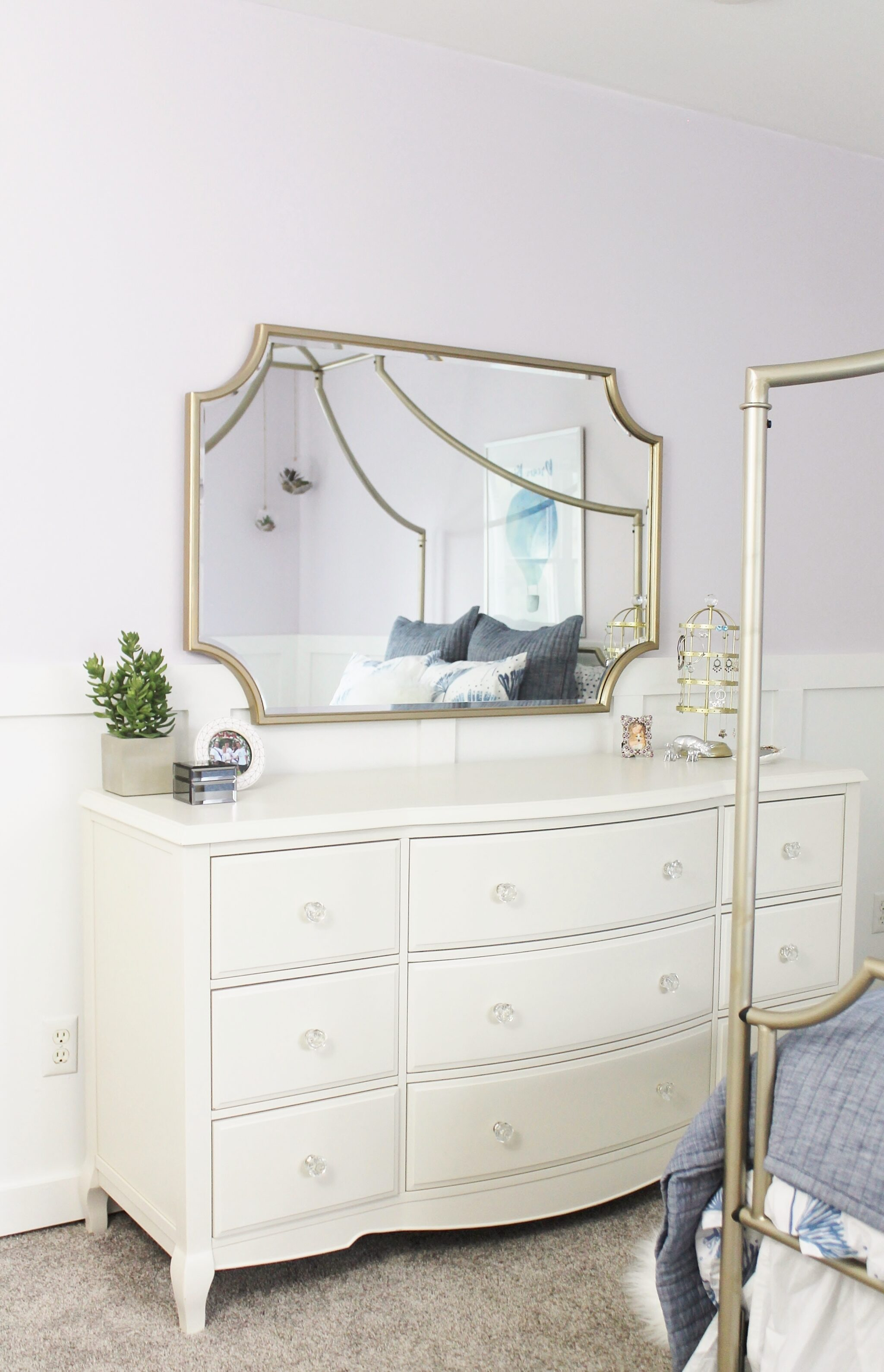 Sydney's Bedroom With Sherwin-Williams + Pottery Barn Teen ...