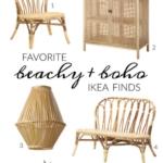 Favorite Beachy + Boho Ikea Finds