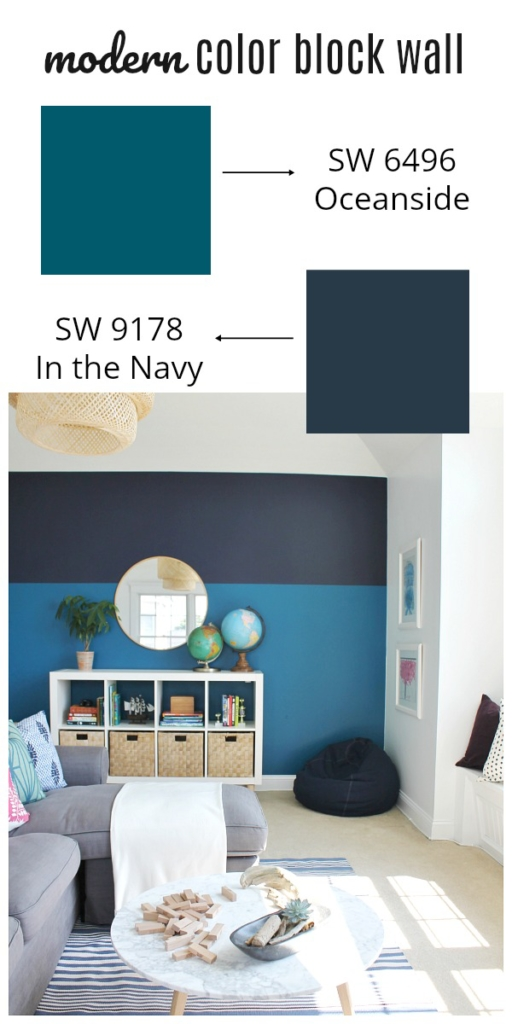 playroom makeover using sherwin williams 2018 color of the year city farmhouse. Black Bedroom Furniture Sets. Home Design Ideas
