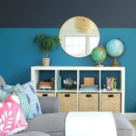 Playroom Makeover Using Sherwin-Williams 2018 Color of the Year