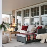 Holiday Housewalk: Woodland Inspired Front Porch