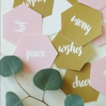 Free Printables: Modern Blush + Gold Holiday Gift Tags