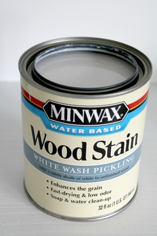 Creating Modern Wood Silhouettes With Minwax: White Wash Pickling