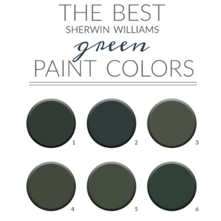 The Best Sherwin Williams Green Paint Colors Credenza