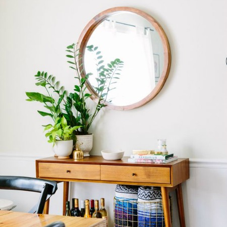 The Best Large Round Mirrors + Why Every House Needs One