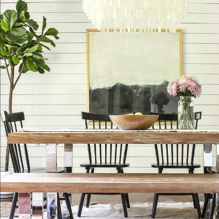 A 1980's Rancher Turned Modern Farmhouse Tour- by Designing Vibes