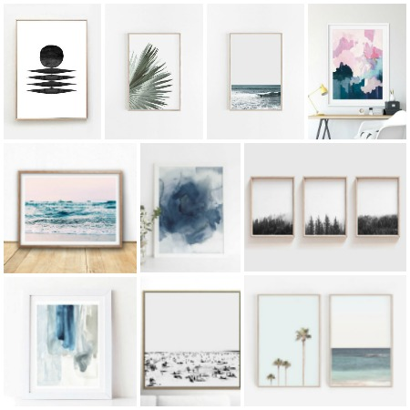 Best Way To Create Affordable + Original Art Using My Favorite Etsy Shops