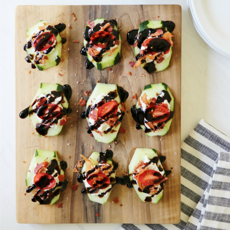 Cucumber Wedges: An Amazing Gluten Free Summer Recipe