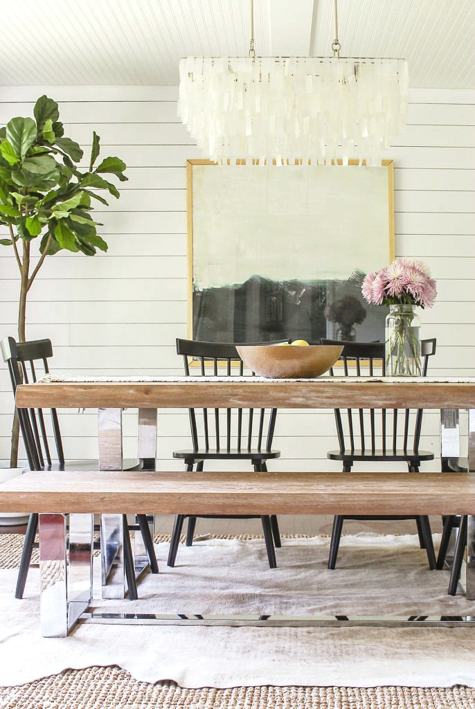 A 1980's Rancher Turned Modern Farmhouse Tour- by Designing Vibes on