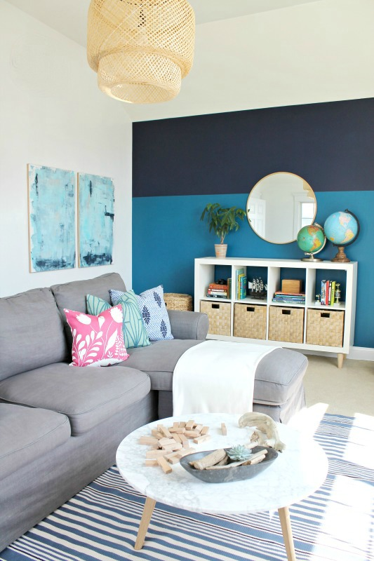 Playroom Makeover with Sherwin-Williams