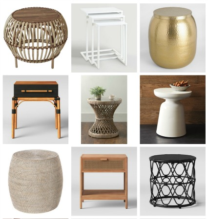 16 Stylish + Affordable Side Tables I Am Loving Right Now