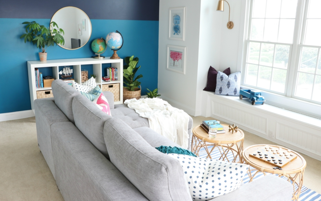 Modern Sofa Bed Updates In The Playroom