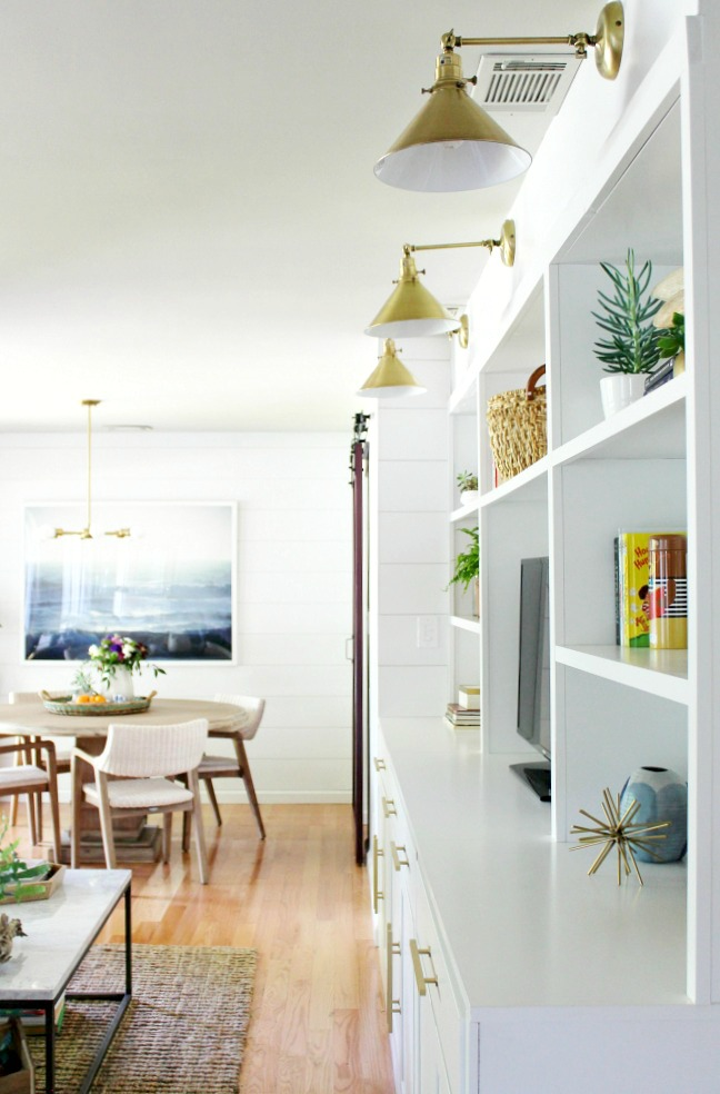 DIY Built-ins from Better Homes & Gardens