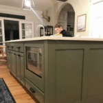 Kitchen Update: Favorite Woven Storage, Indigo Rug + Neutral Paint Color