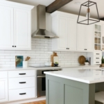 Earthy Coastal White Kitchen Reveal
