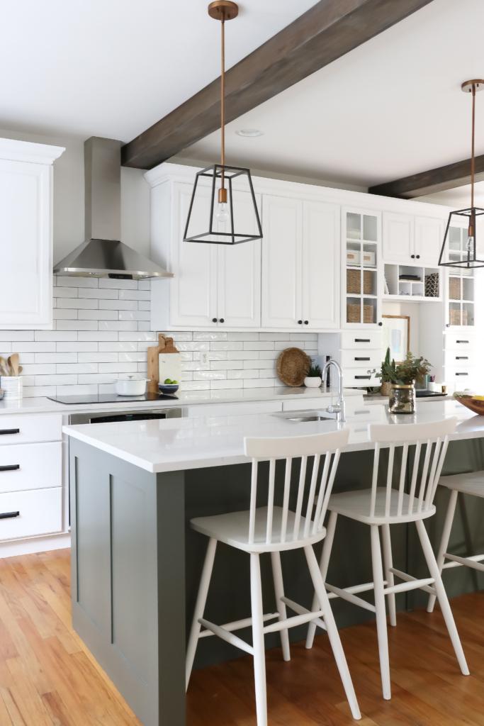 Isla para cocina moderna