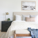 Casual Hamptons Master Bedroom Reveal-The Look For Less